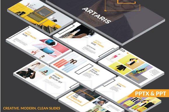 ARTARIS PowerPoint Template