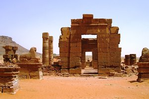 Ruins of Naqa, ancient Kush