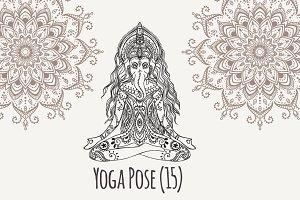 Yoga PDF PNG EPS10 №15