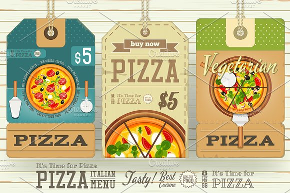 Pizza Price Tags