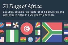 The Flags of Africa Icon Set