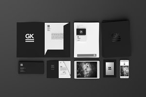 Stationary Branding Mock-up