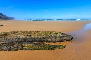 Sandy beach, Portugal.