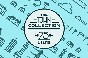 The Town Collection - 75 Items