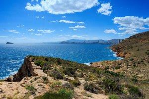 Summer Mediterranean sea, Spain
