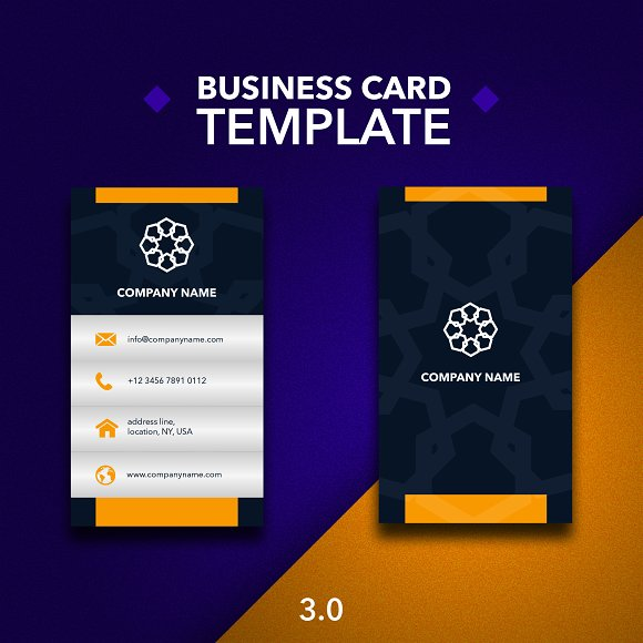 Business Card Template 3.0