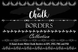 White Chalk Borders Collection