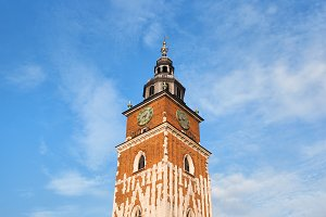 Medieval Town Hall Tower in Krakow