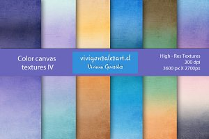 Color canvas textures IV