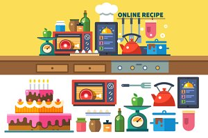 Recipes online. Kitchen and cooking