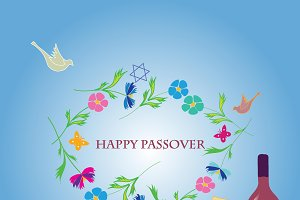 Happy Passover Card