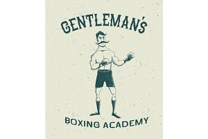 vintage boxer