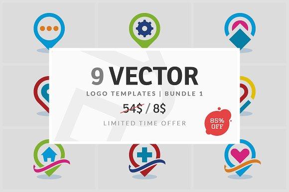 9 Vector Logo Elements Bundle 01