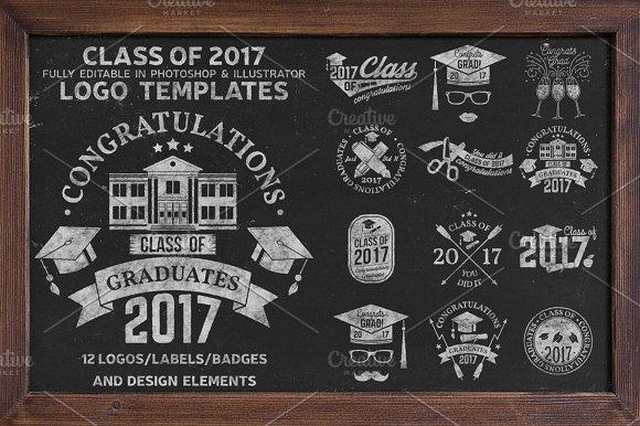 Class Of 2017 -Graphicriver中文最全的素材分享平台