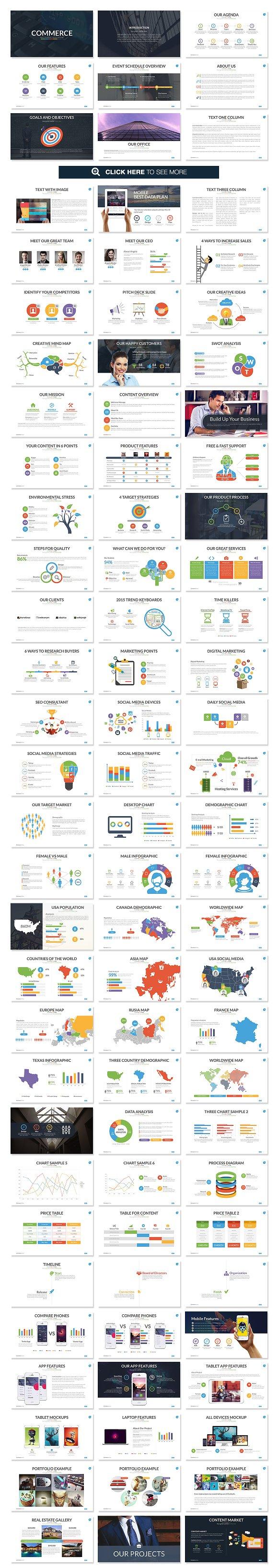 MEGA EMPIRE Powerpoint + Keynote ~ Presentation Templates ~ Creative ...