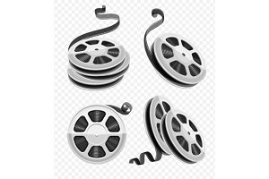 Movie video movie film disks with tape
