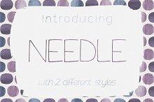 Needle Sans Serif Font