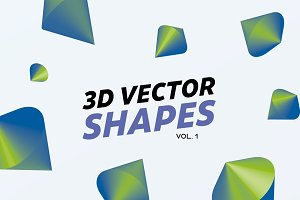 3D Gradient Shapes
