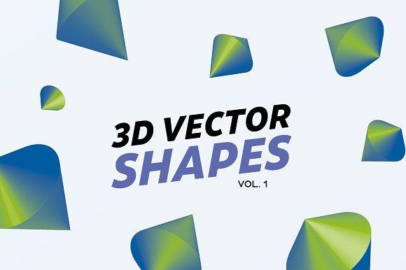 3D Gradient Shapes