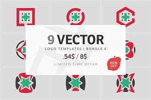 9 Vector Logo Elements - Bundle 04