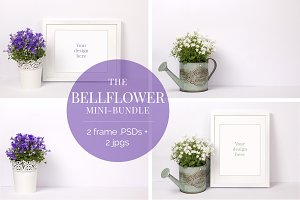 The Bellflower Mockup Bundle