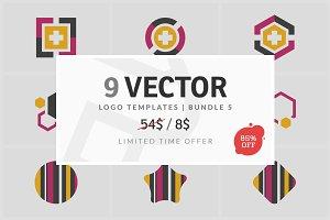 9 Vector Logo Elements - Bundle 05