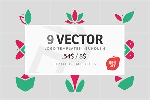 9 Vector Logo Elements - Bundle 06