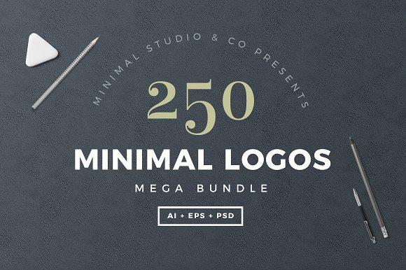 250 Minimal Logo Bundle