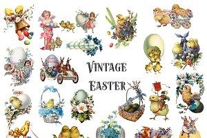 Vintage Easter Clipart