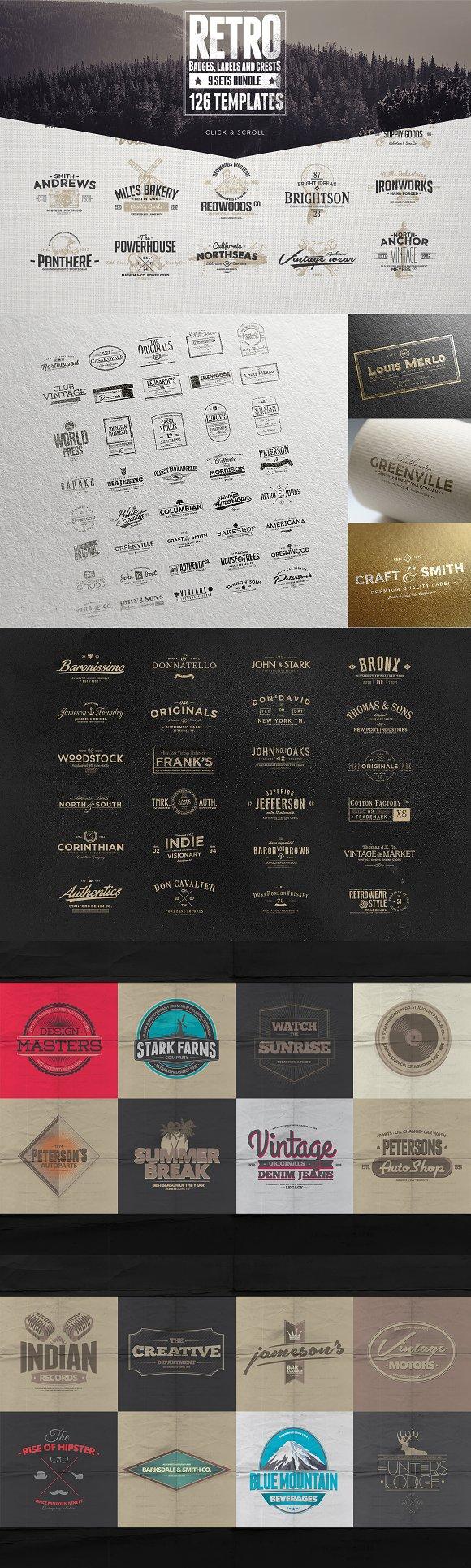Logo Creators Megabundle ~ Logo Templates ~ Creative Market