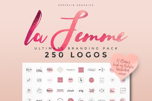Logo Creators Megabundle Templates Creative Market