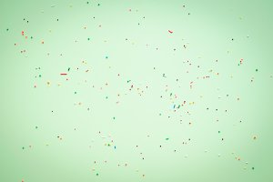 Easter light green background