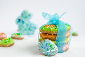 Easter homemade gingerbread cookies