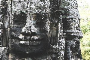 Cambodia, Bayon Temple in Angkor Wat