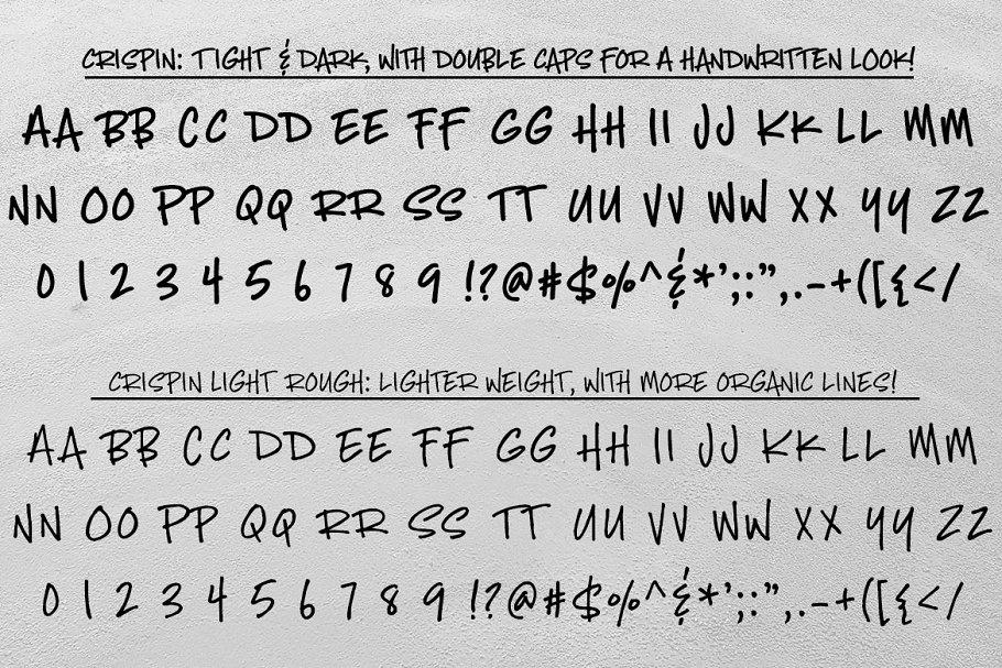 Crispin Handwritten Marker Font