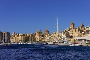 Harbour in Malta