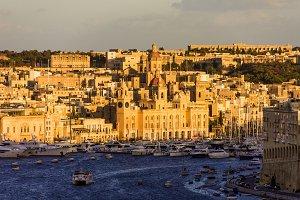 Magic Hour at Vittoriosa, Malta