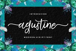 Agustine Script