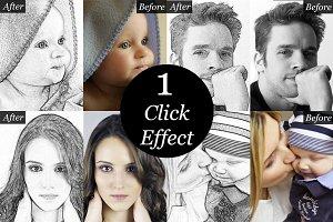 Sketch Artist-Photo to Sketch effect