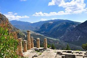 ruinas de Delfo