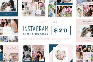 Instagram Story Boards - Lorelai