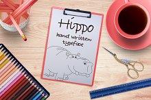 Hippo -Font No.3