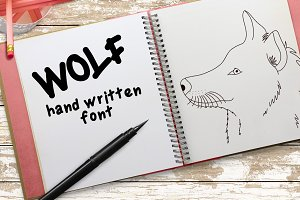 Wolf - Font No.4