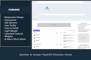 Question & Answer Discussion Forum