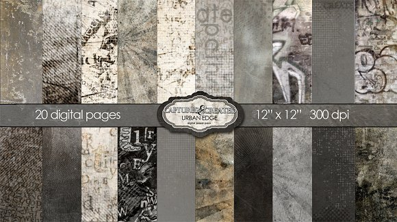 Urban Edge Paper Pack 20