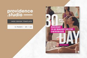 Fitness Bold Ebook Template