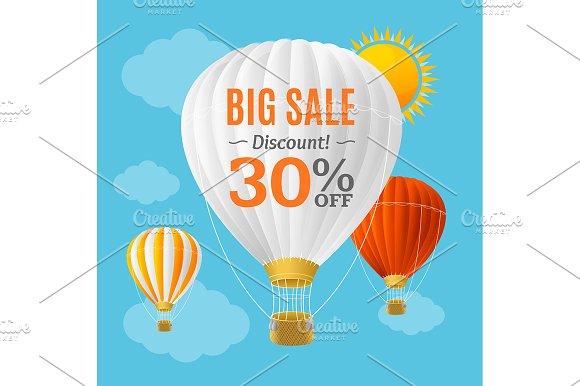 Big Sale Summer Concept Banner
