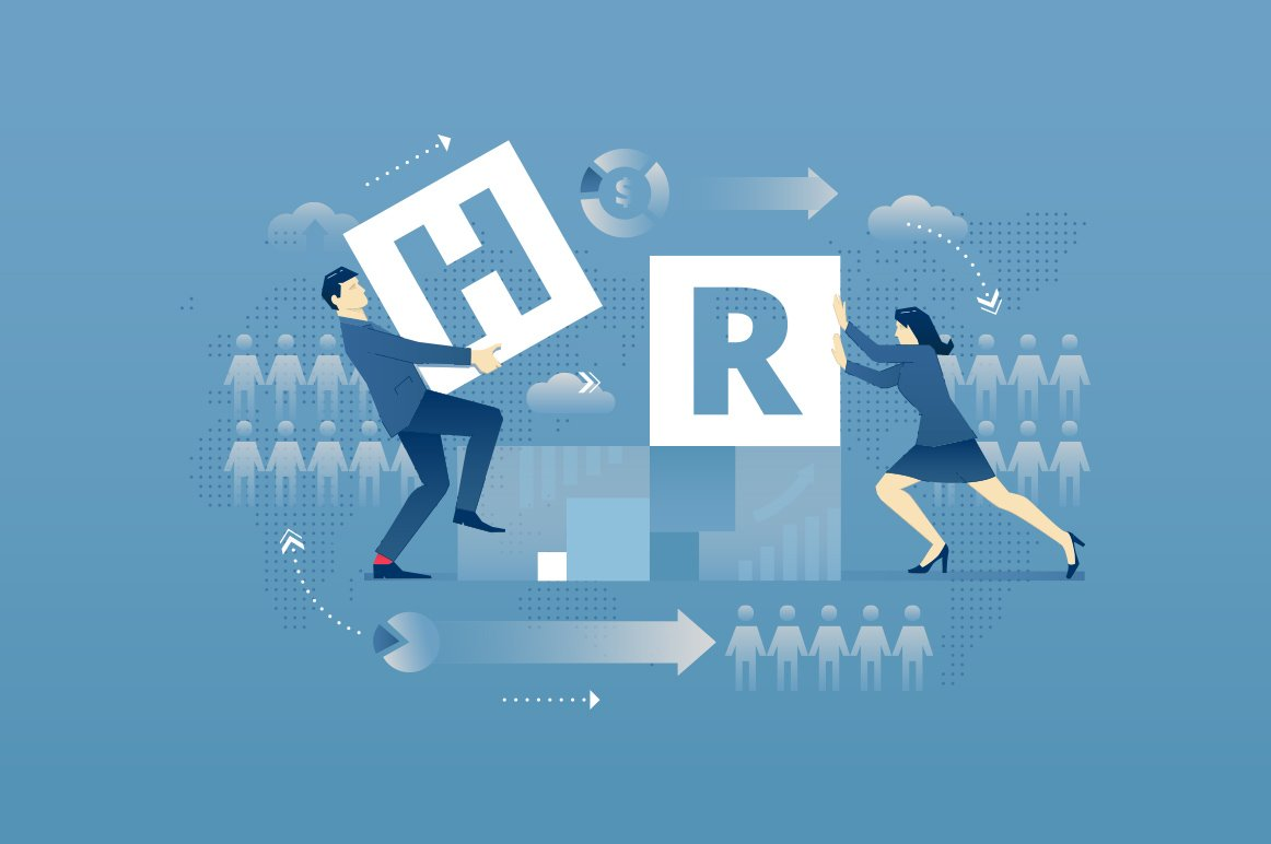 Human resources hero banner ~ Web Elements ~ Creative Market