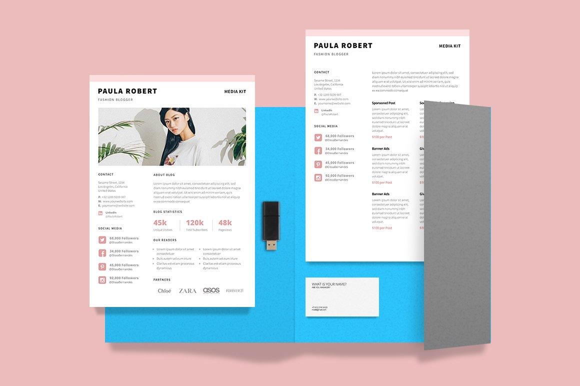 Media Kit for Blogger