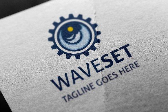 Wave Set Logo
